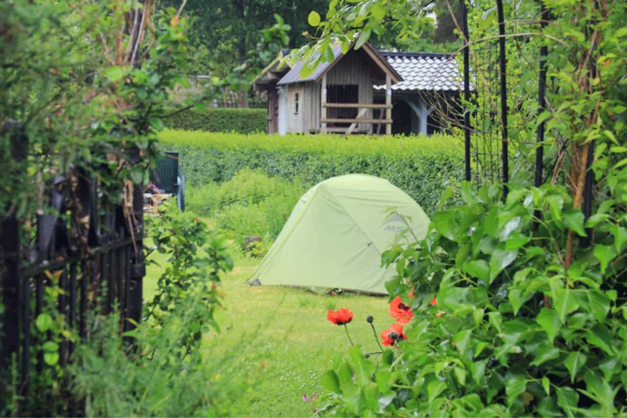 Backyard Camping – activities for kids