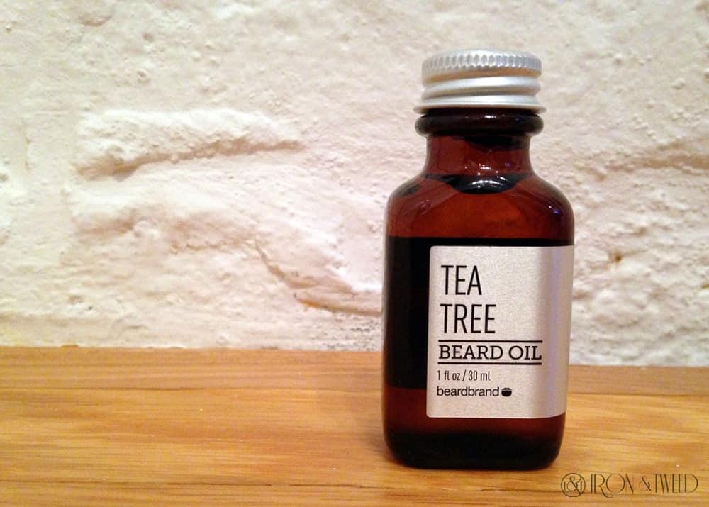Beardbrand Tea Tree – beard oil