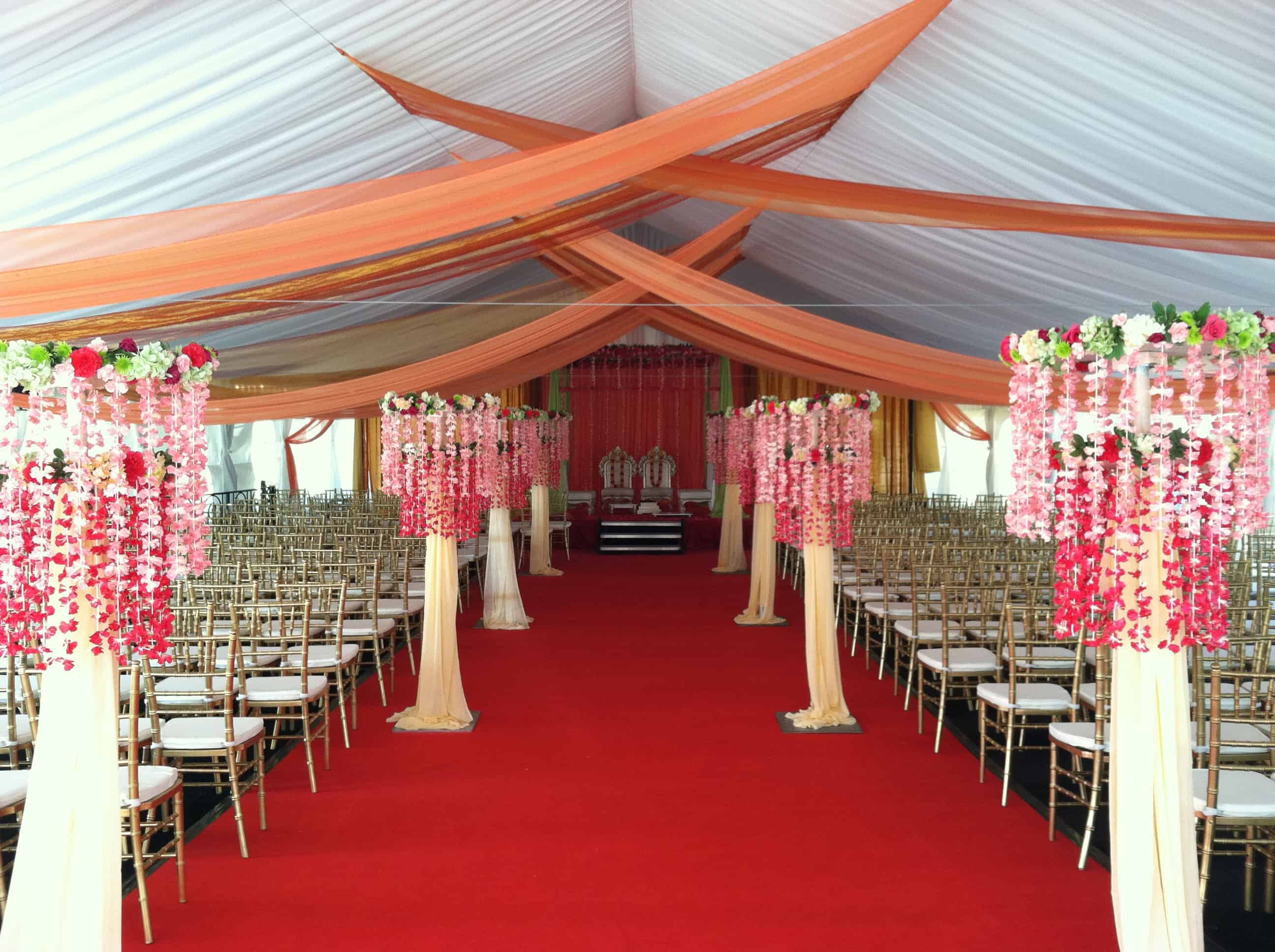 Decorative Drapes – wedding decorations