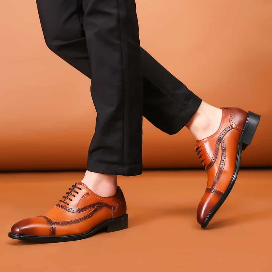 Dress Casual Brown Shoes