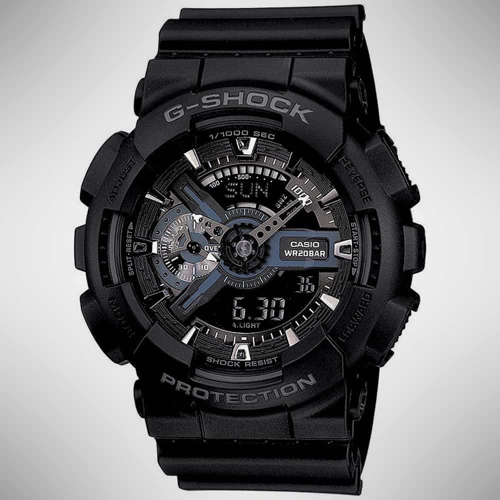 G-Shock GA110-1B Military Series Digital Watch