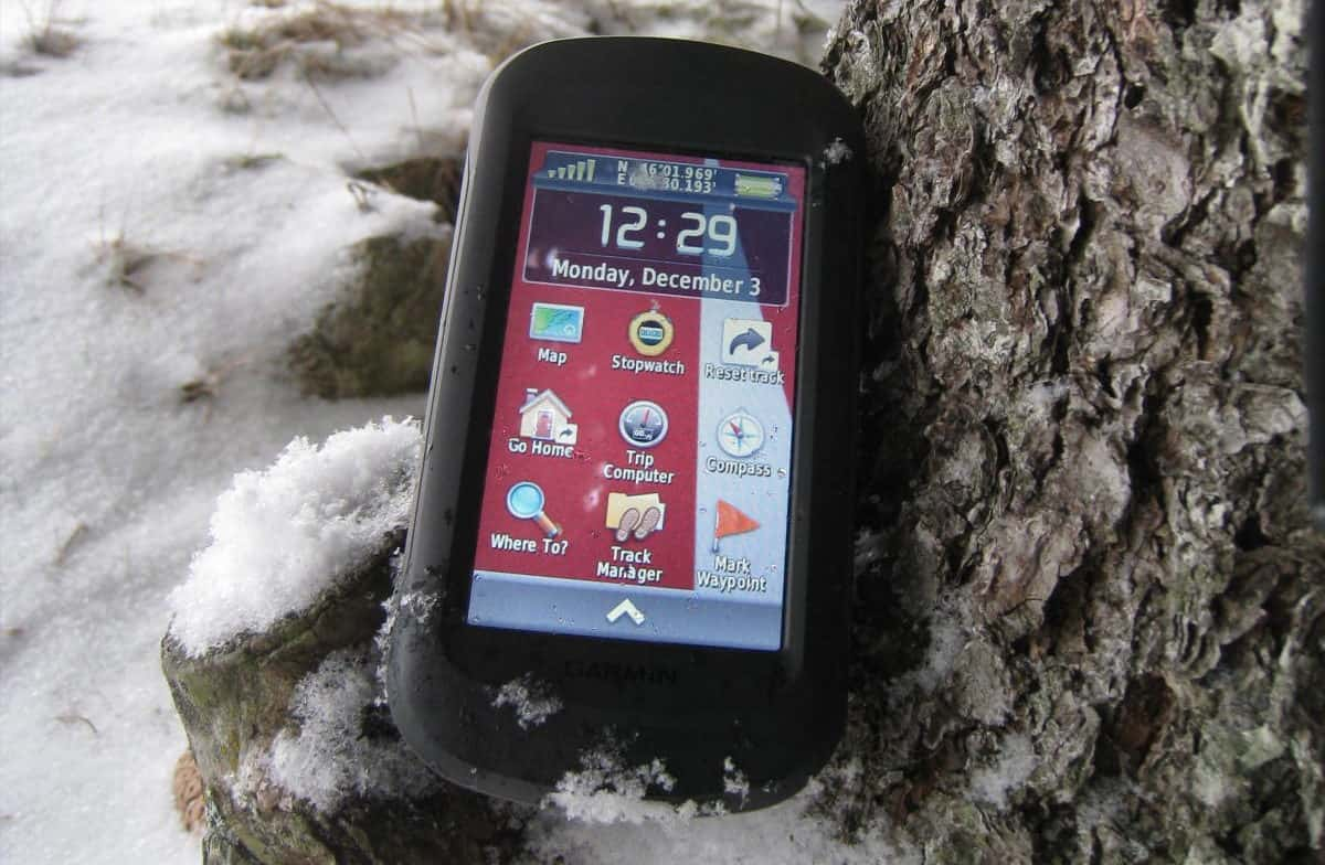 Garmin Montana 680t – handheld gps