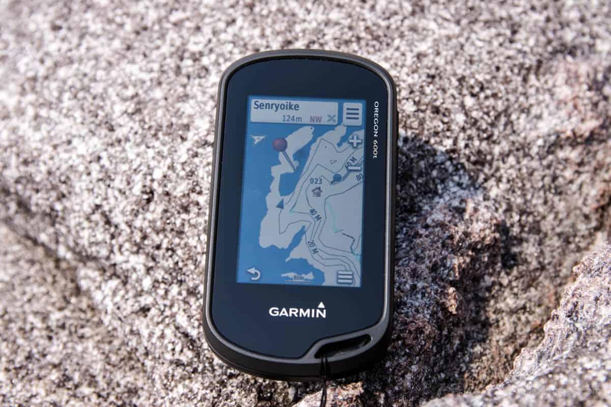 Garmin Oregon 600t – handheld gps