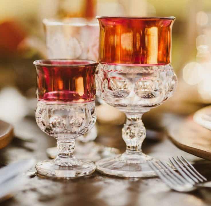 Gorgeous Glassware – wedding decorations
