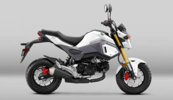 Honda Grom commuter motorcycle 345x200 16 Best Small Motorcycles for City Commuting