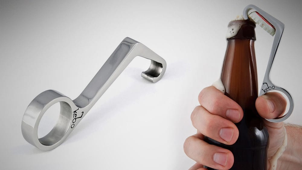 Kebo One Handed Bottle Opener