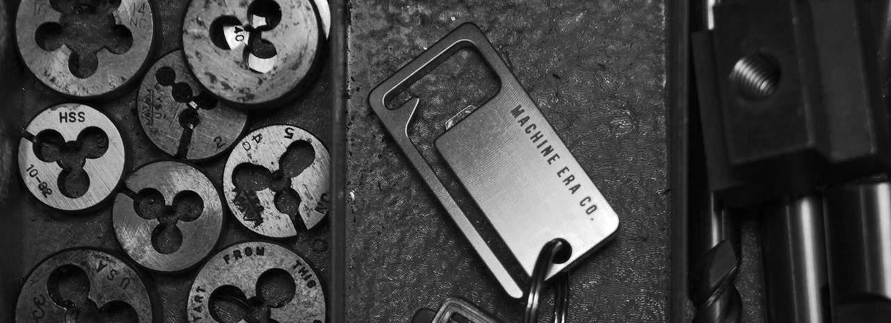 Machine Era Key Square – bottle opener