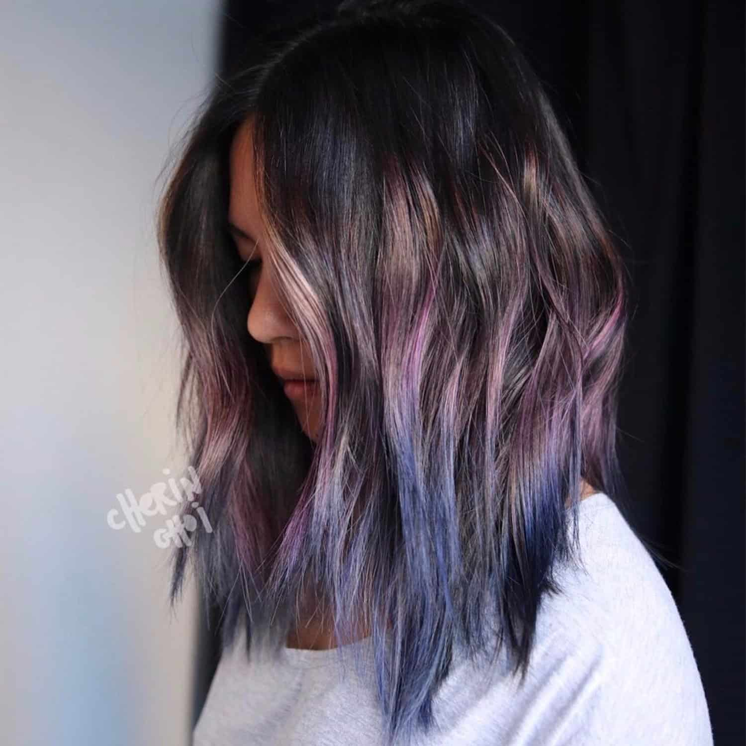 Northern Highlights – hair color