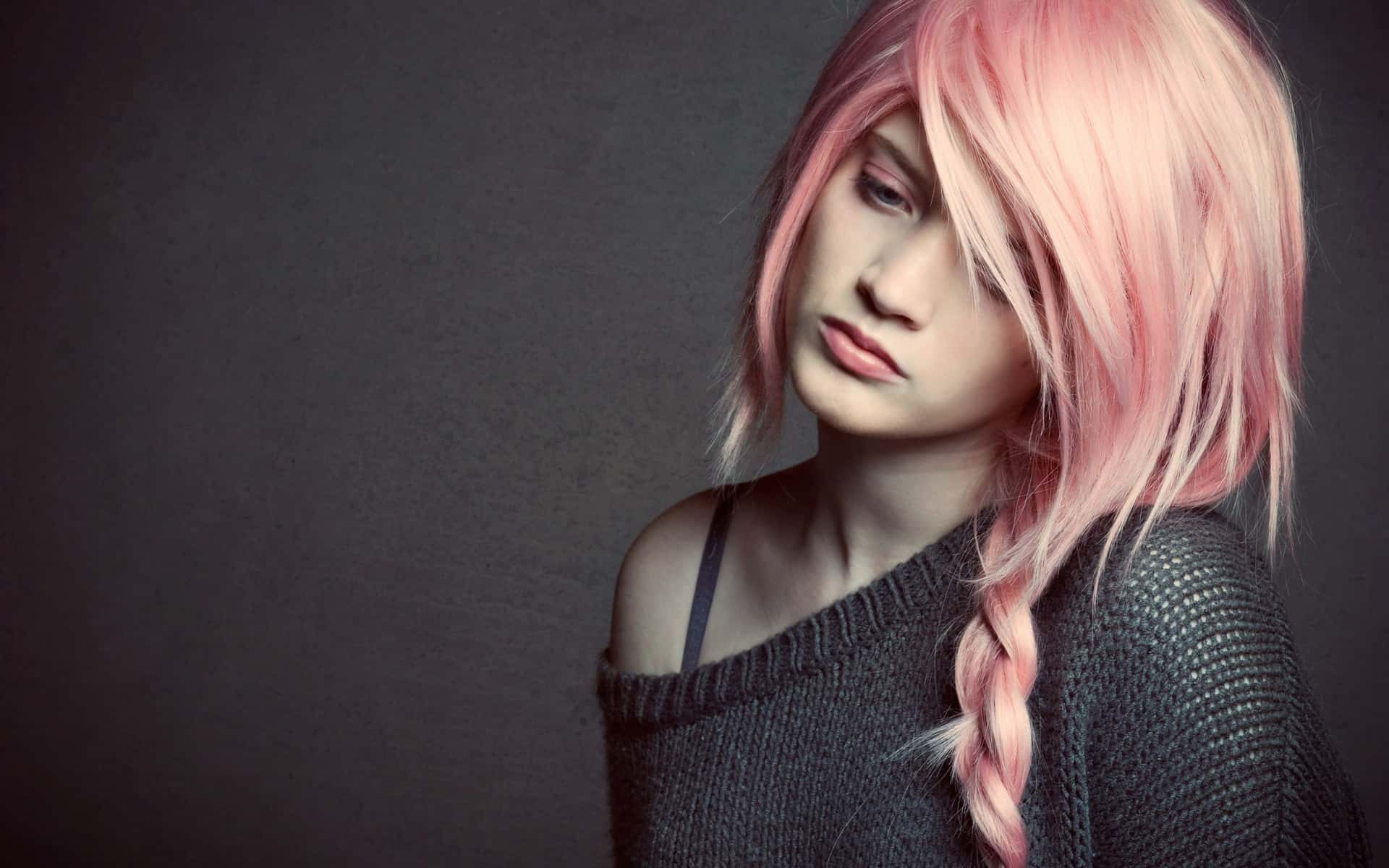 Pink – hair color