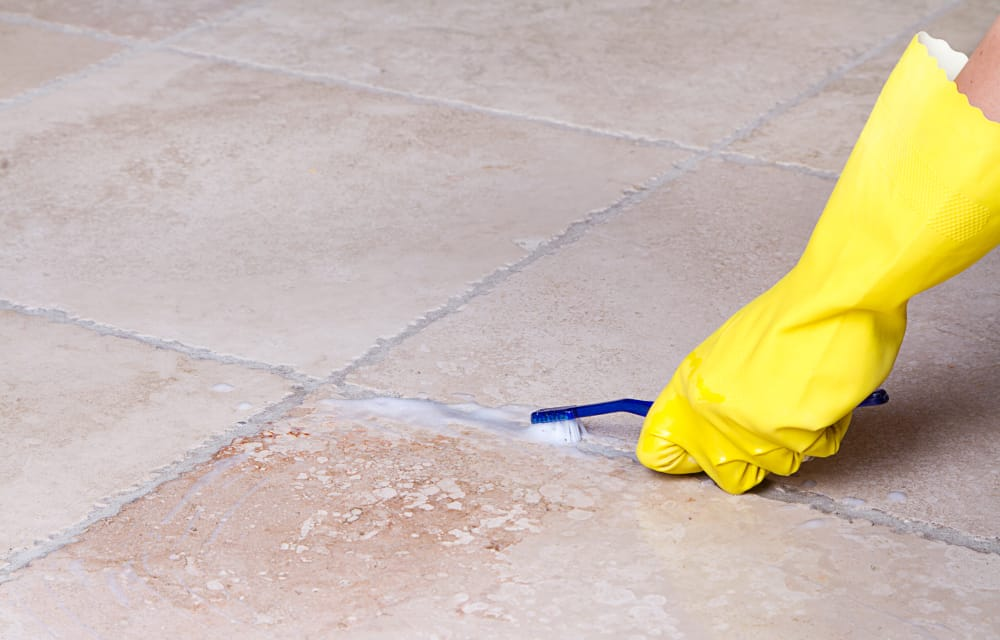 Scrub Tiles – reduce allergies