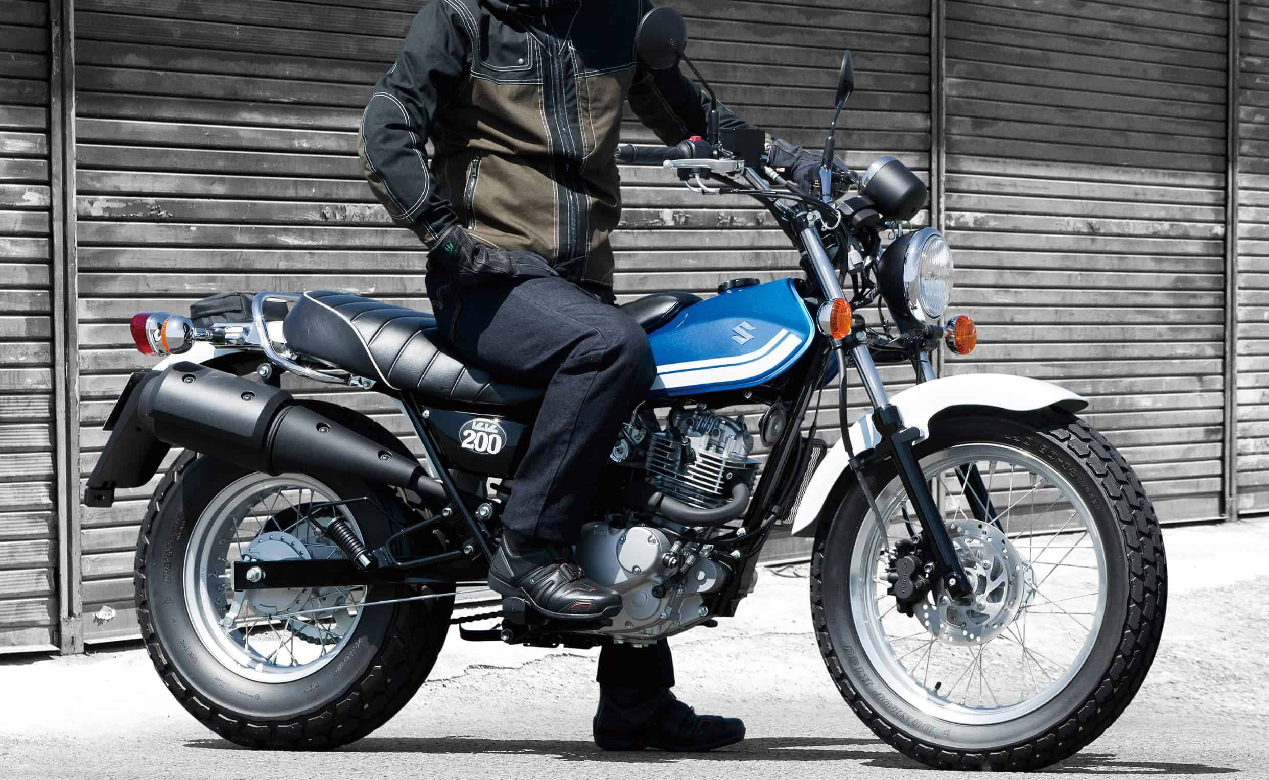 Suzuki Vanvan 200 – commuter motorcycle