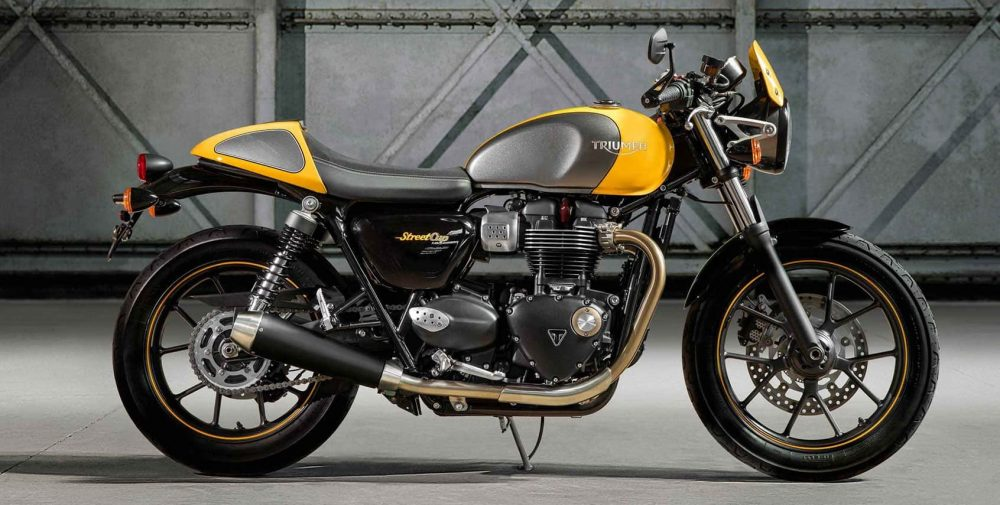 Triumph Street Cup – commuter motorcycle