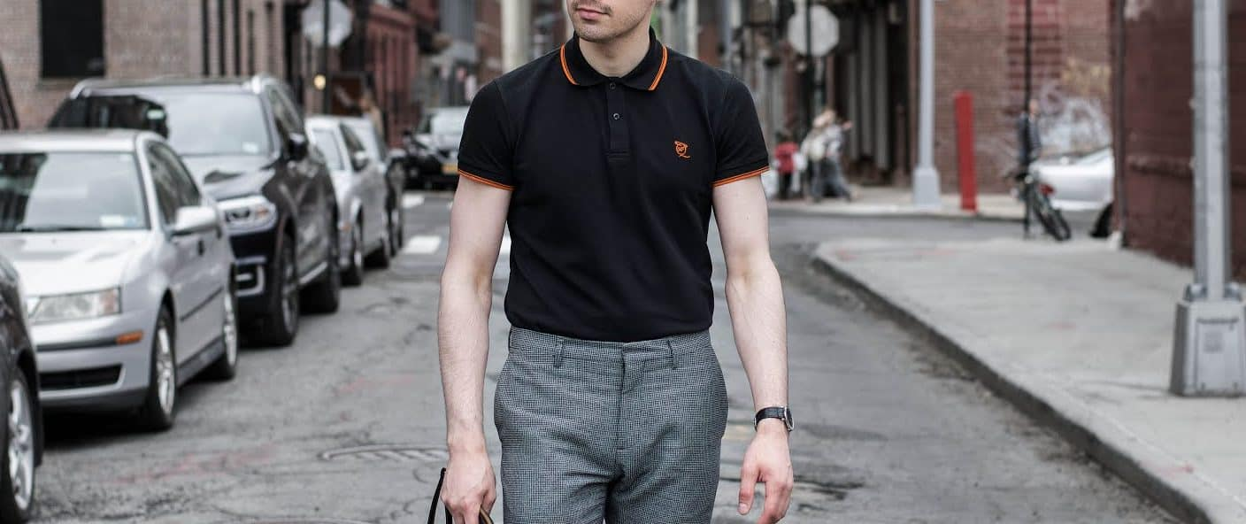 Tucked In – how to wear polo shirt