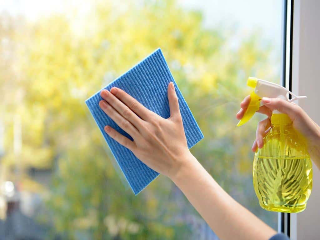Wash Your Windows – reduce allergies