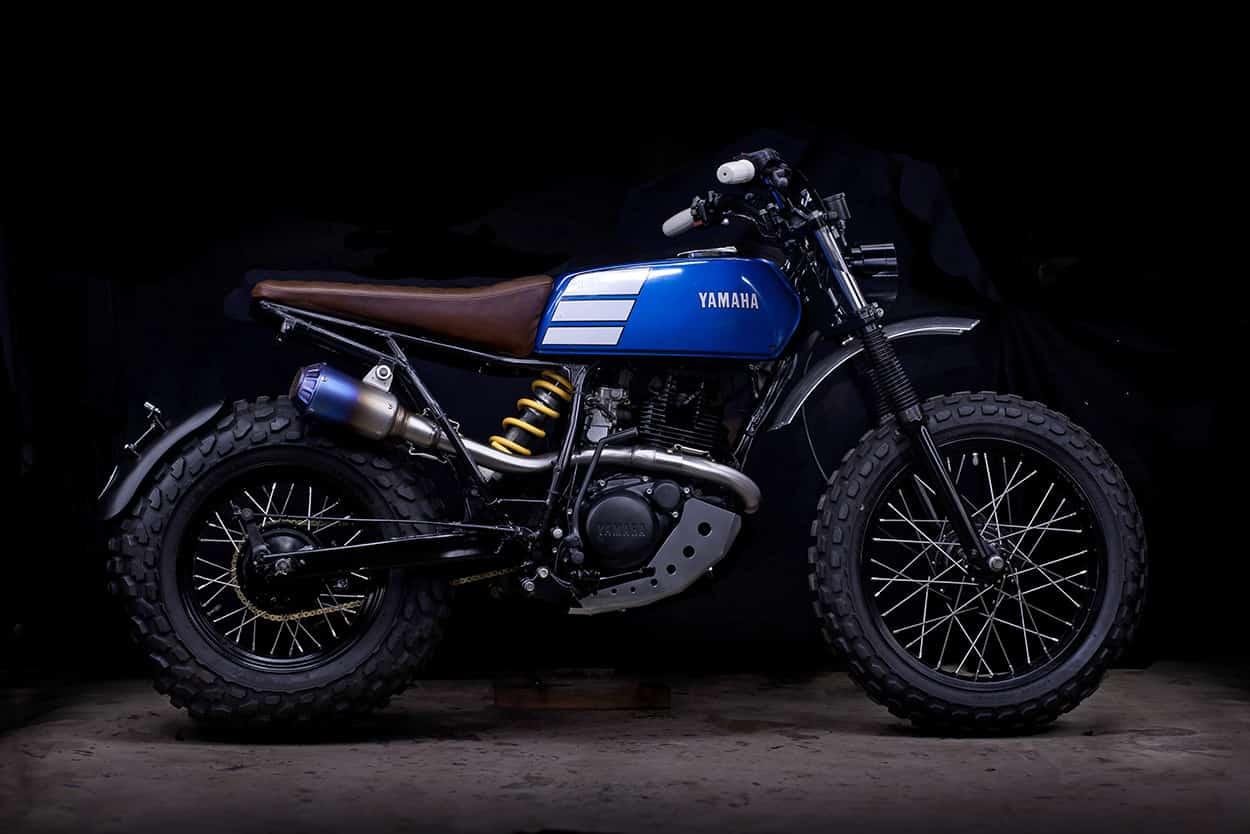 Yamaha TW200 – commuter motorcycle