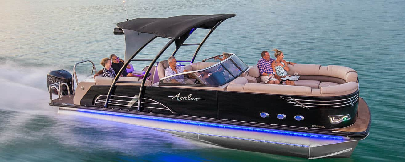 Avalon Ambassador Windshield – pontoon boat