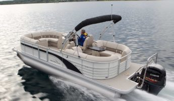Bennington 2250 GSR pontoon boat 345x200 Personal Cruise: 12 Pontoon Boats Perfect for Water Play