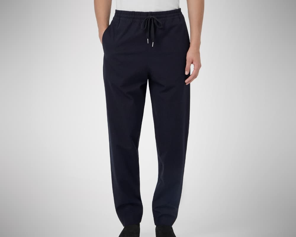 COS Twill Drawstring Trousers – jogger pants