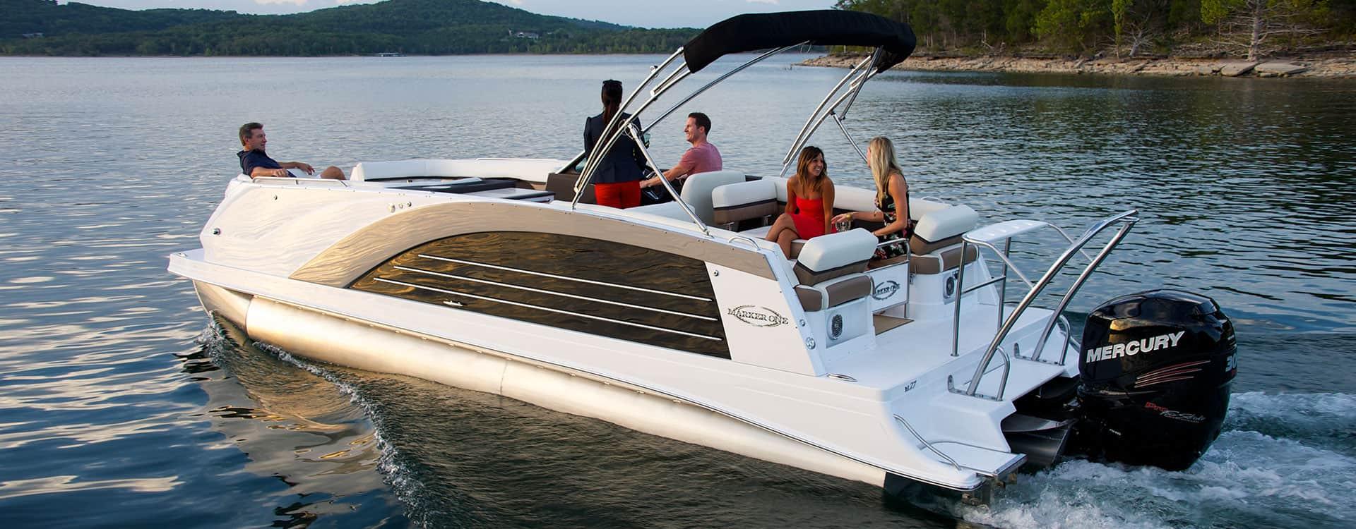 Cobalt Marker One – pontoon boat