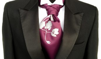 Formal Ascot wear a cravat 345x200 A Gentlemans Guide to Wearing a Cravat or an Ascot