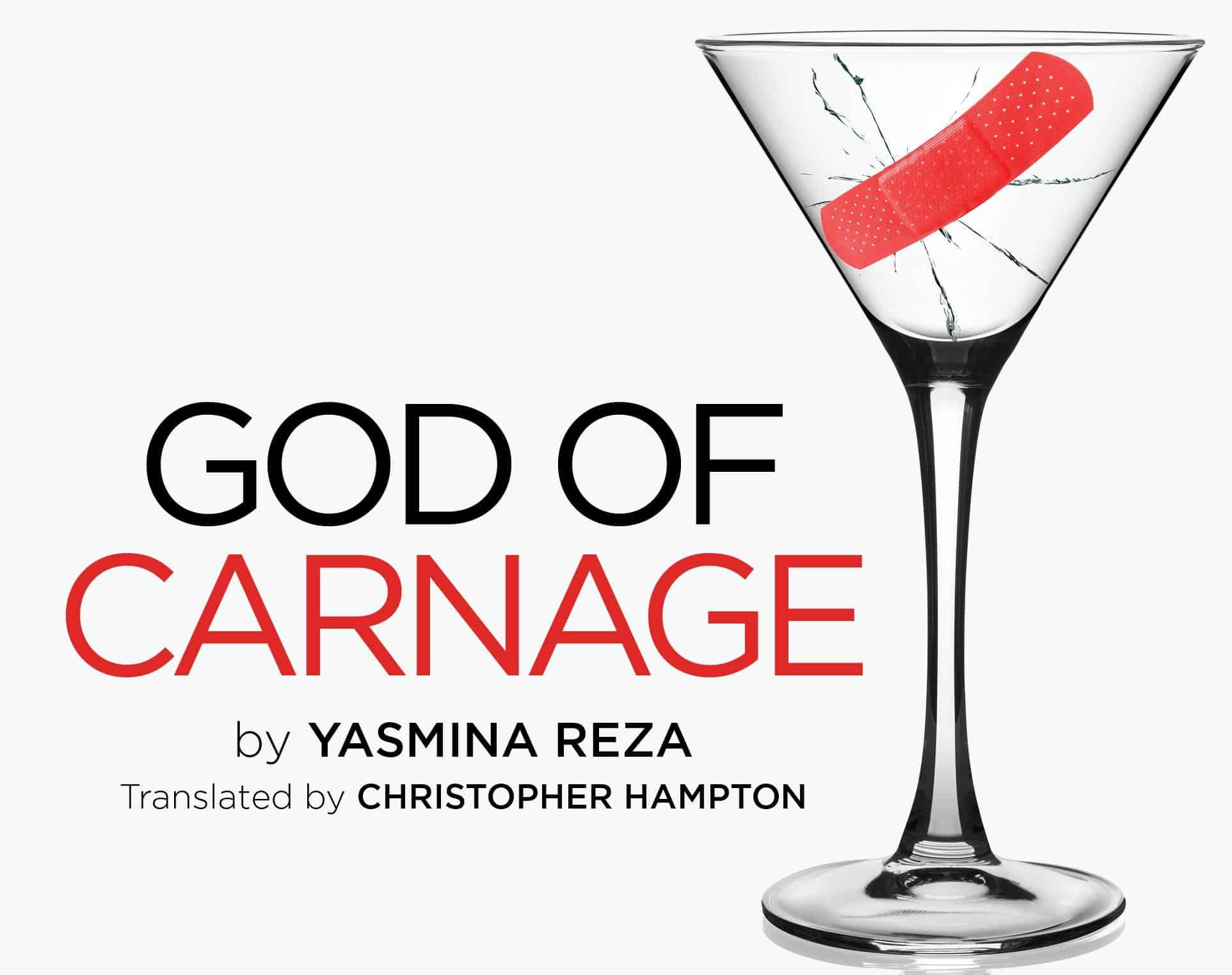 God of Carnage byYasmina Reza – play