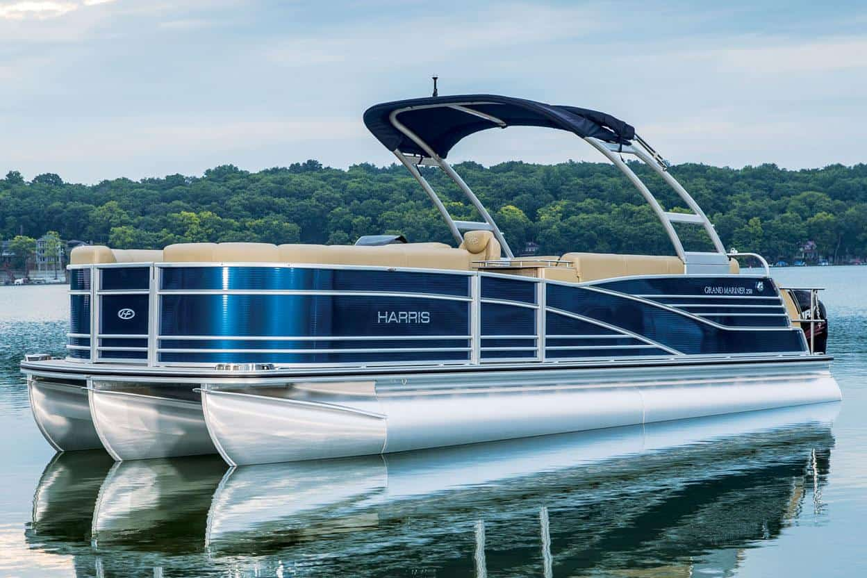 Harris Grand Mariner SL 250 – pontoon boat