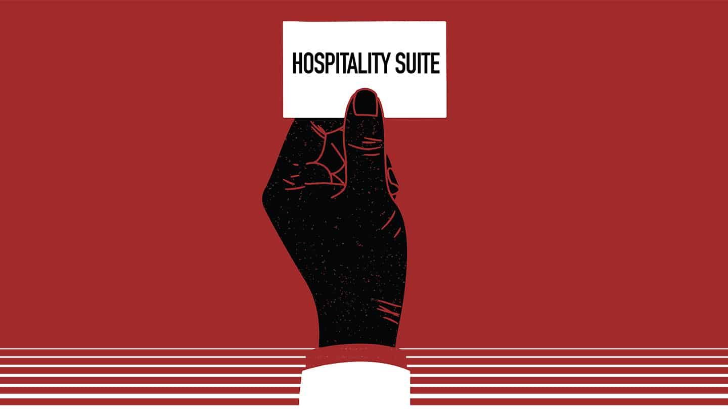 Hospitality Suite by Roger Rueff – play