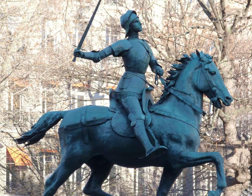 Jean d'Arc – famous transgender