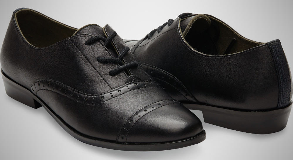Lacing and Fit – oxford shoe