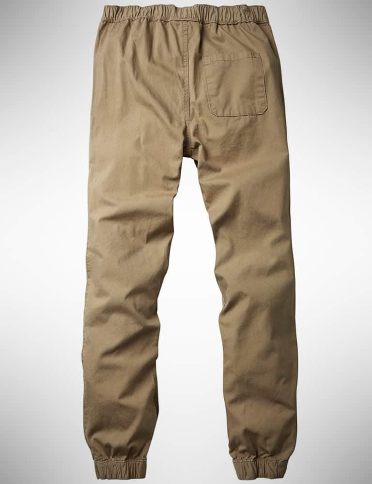 Mens Chino Cargo Jogger Pants