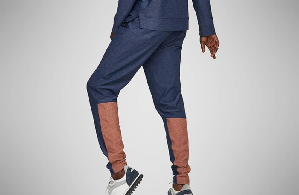 Outdoor Voices Two-Tone Runningman Sweats – jogger pants