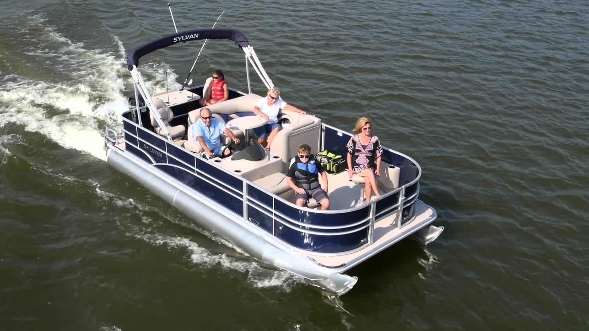Sylvan Mirage Fish 820 4-PT – pontoon boat