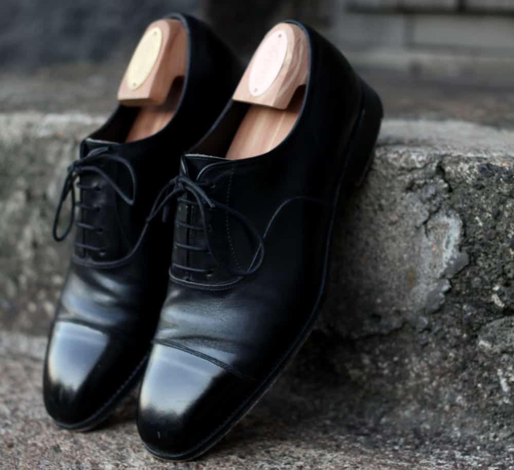 Toe Cap Oxford Shoe