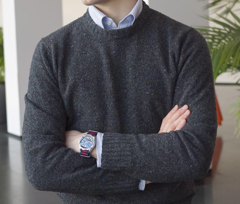Wearing an OCBD – oxford cloth button down