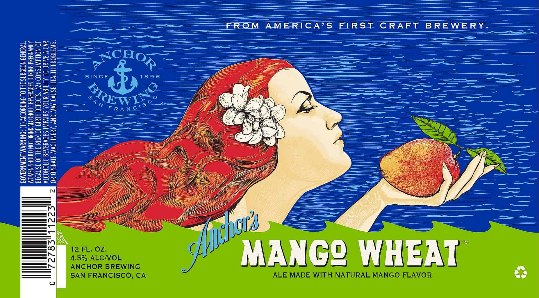 Anchor Mango Wheat – shower beer