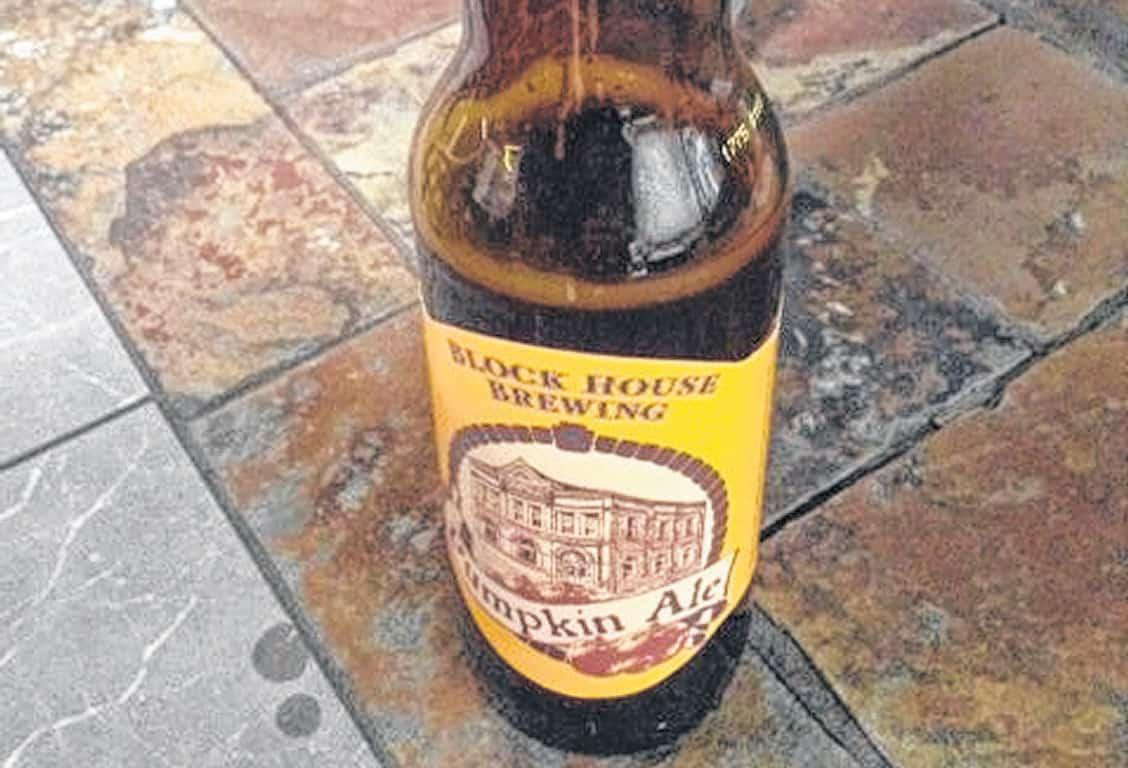 Block House Pumpkin Ale – shower beer