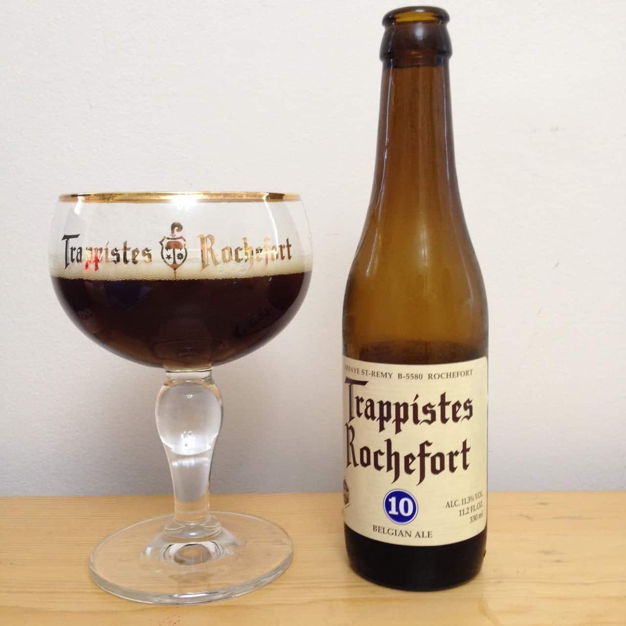 Brasserie de Rochefort's Trappist Rochefort 10 – best tasting beer