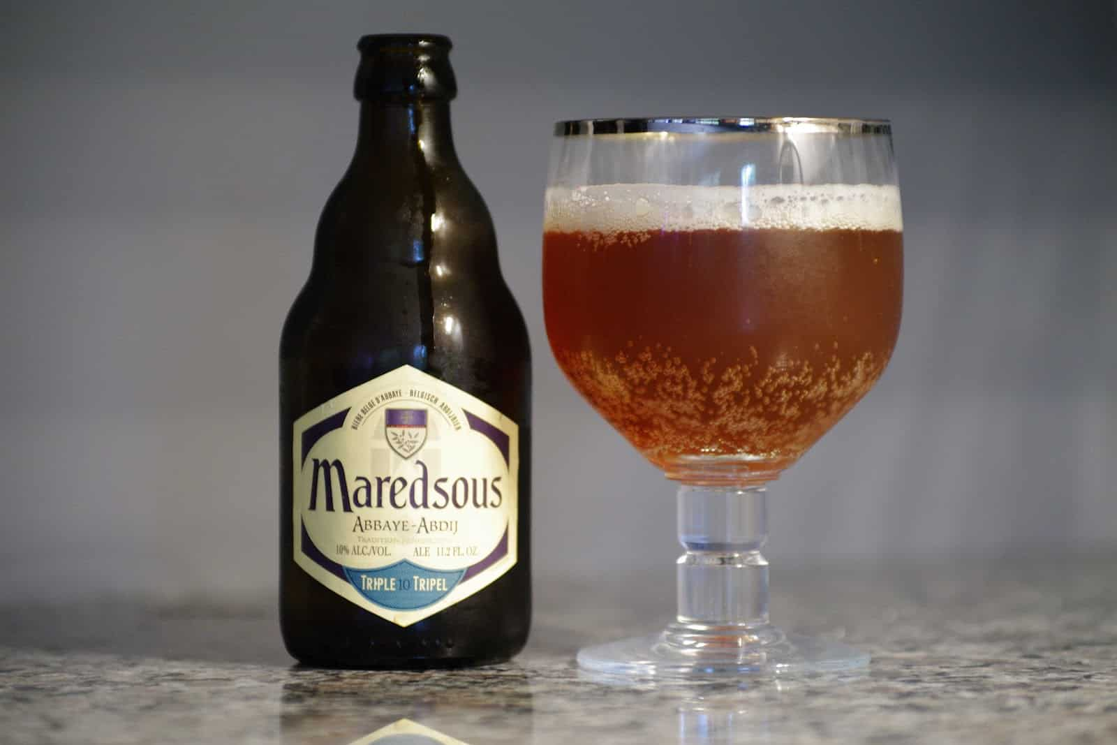 Brouwerij Duvel Moortgat's Maredsous Tripel – best tasting beer