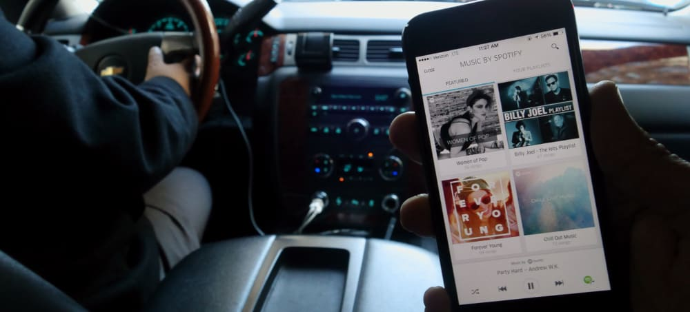 Connect to Uber – spotify tip