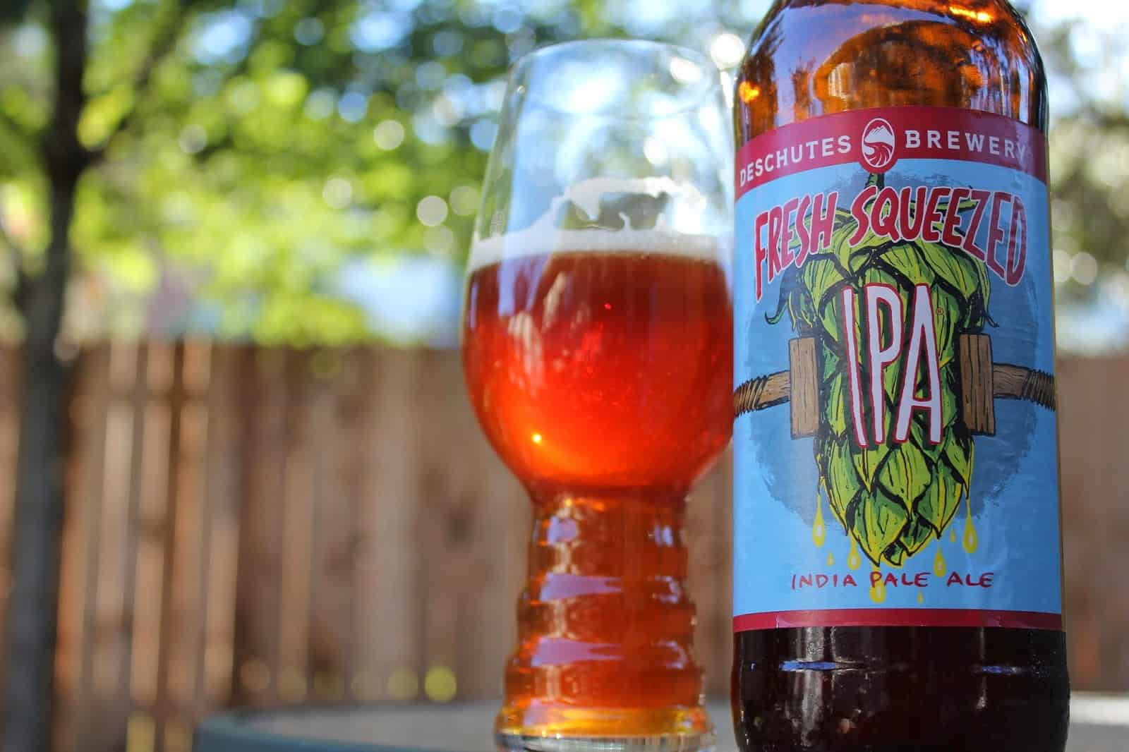 Deschutes Fresh Squeezed IPA – shower beer