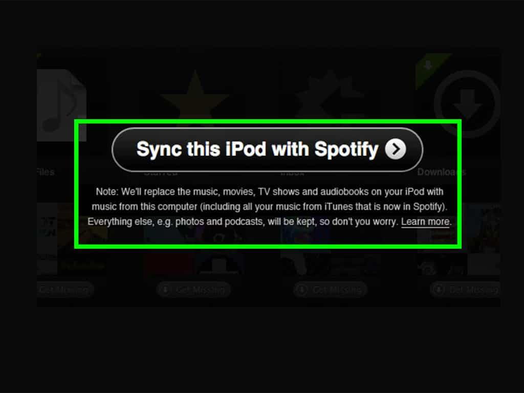 Device Sync – spotify tip