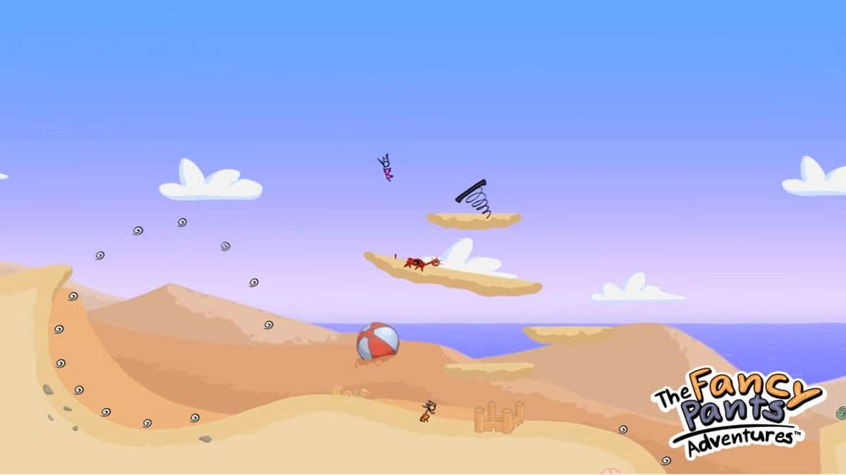 Fancy Pants Adventure – browser game