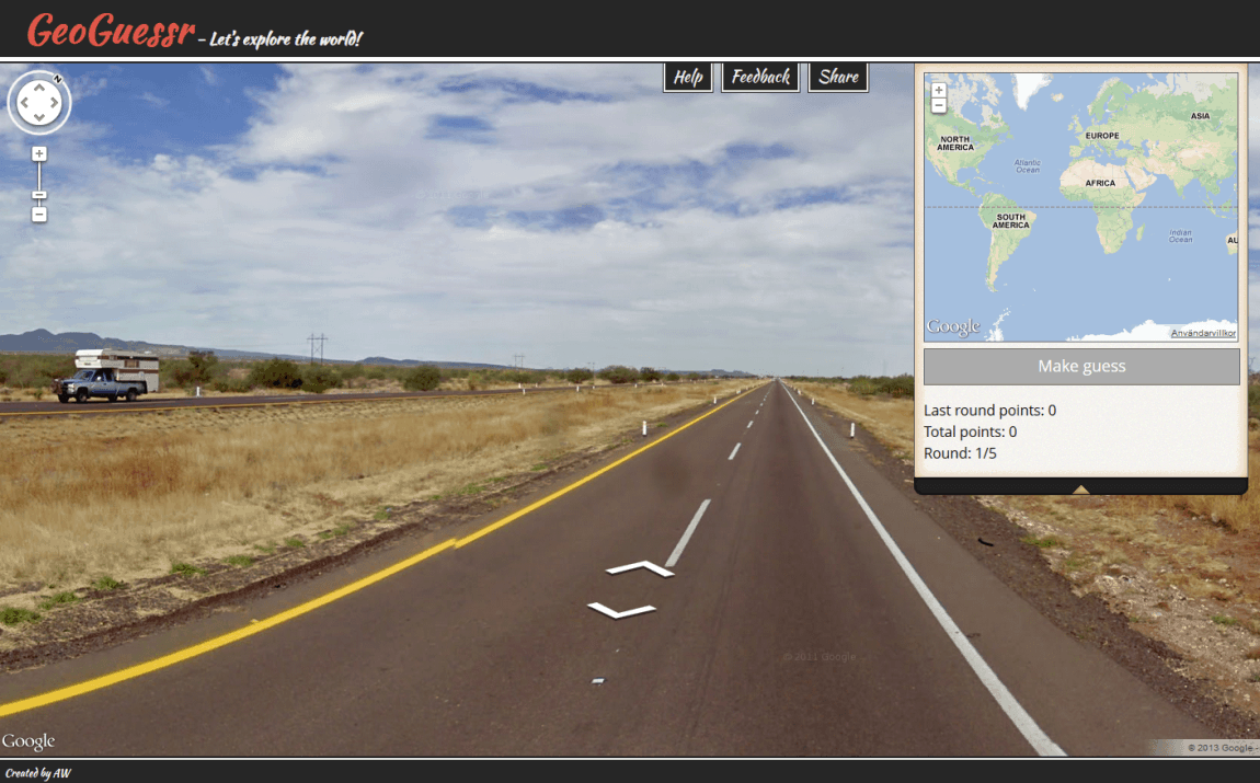 GeoGuessr – browser game