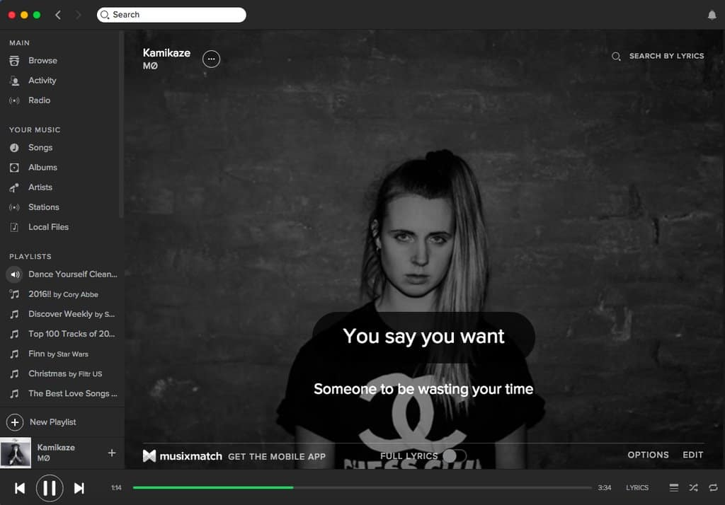 Home Karaoke – spotify tip