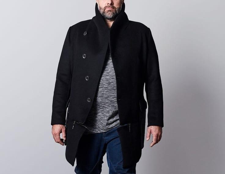 Jacket – men dress for body type