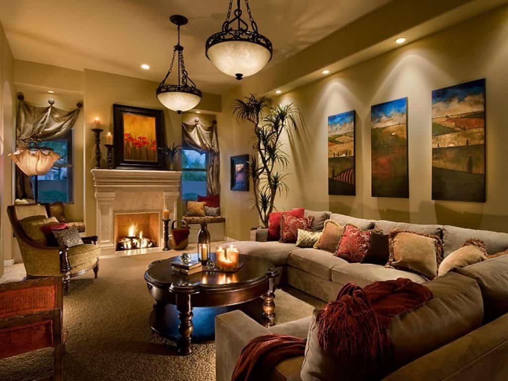 Layered – living room idea