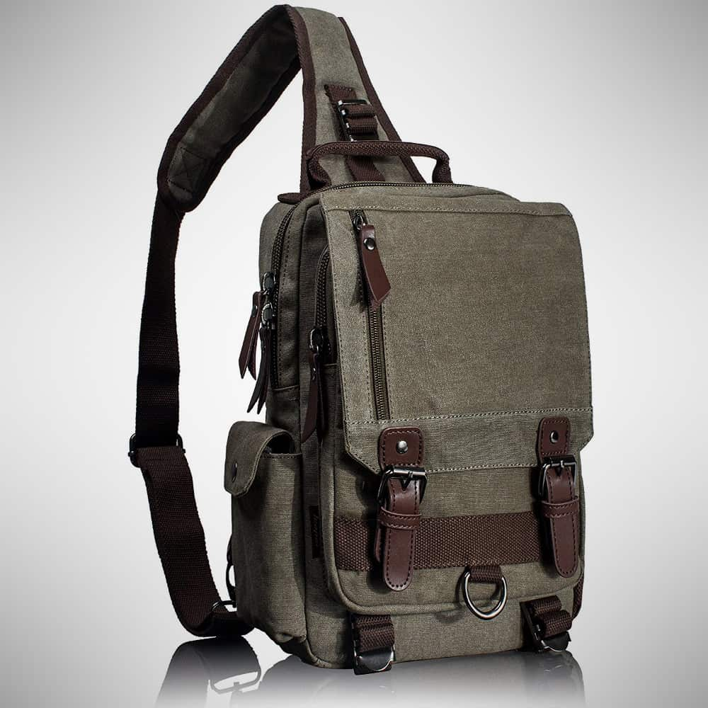 Leaper Cross Body Messenger Bag – sling backpack