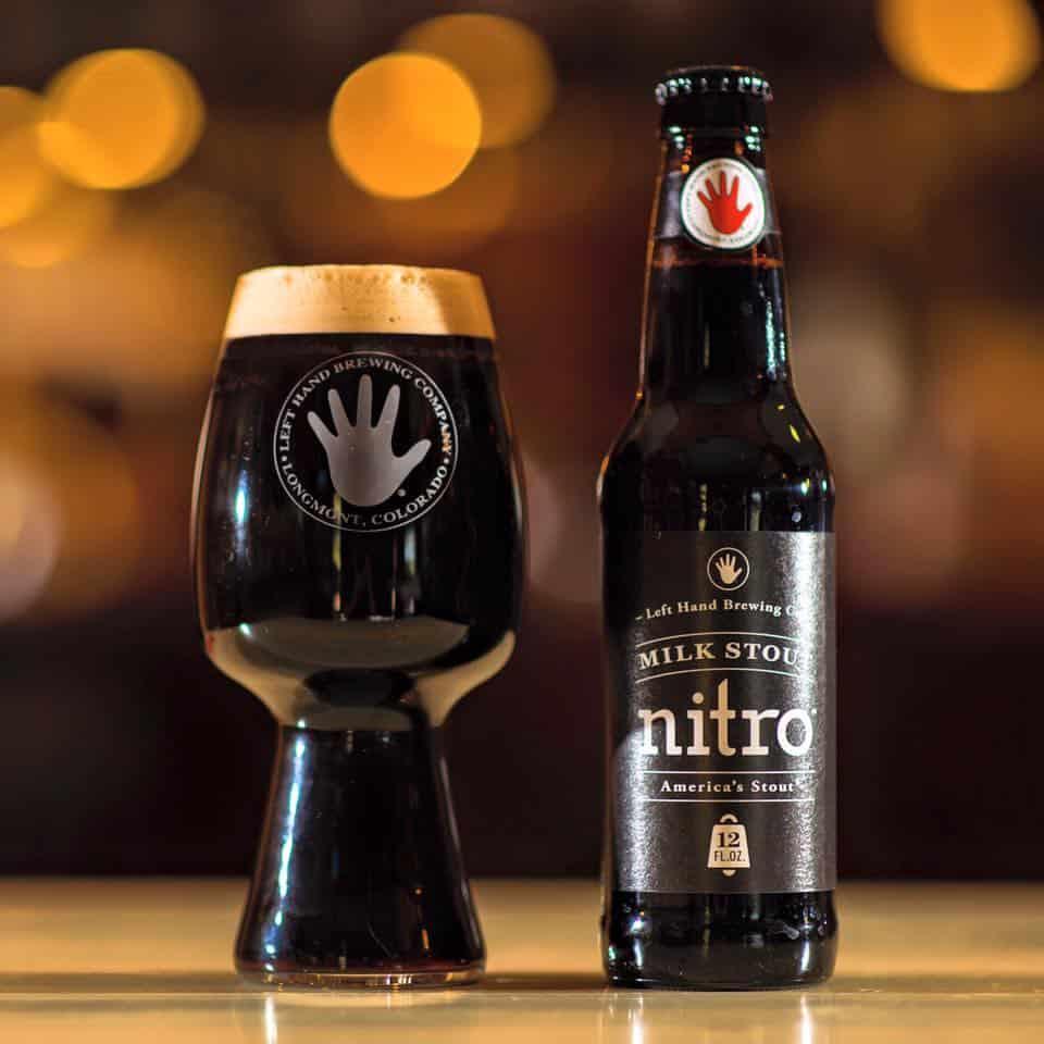 Left Hand Brewery's Nitro Milk Stout – best tasting beer