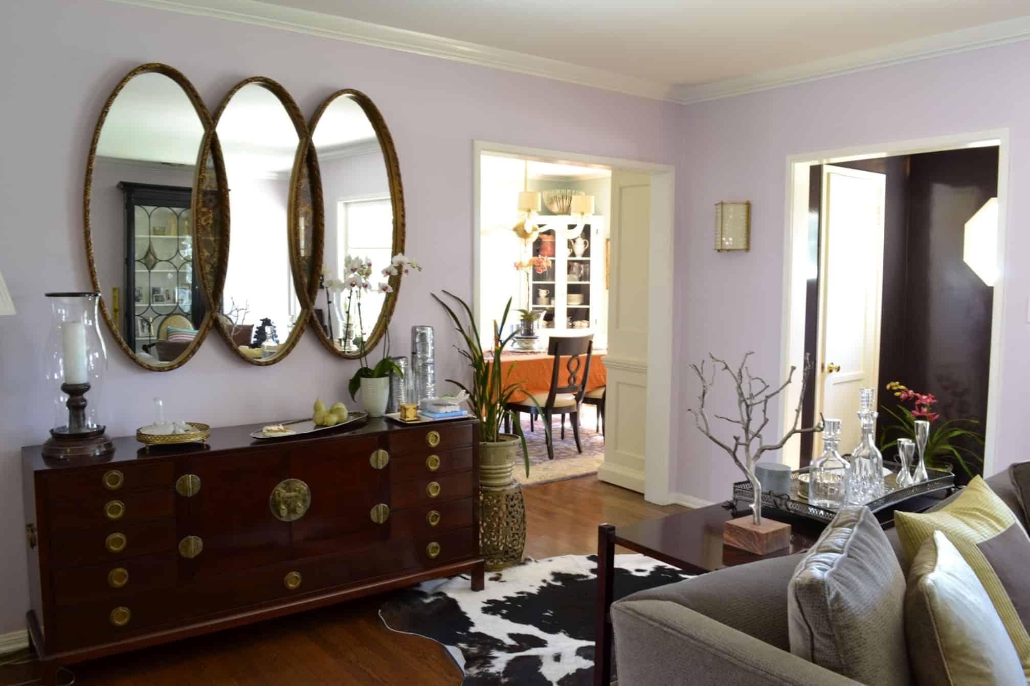 Mirror Image – living room idea
