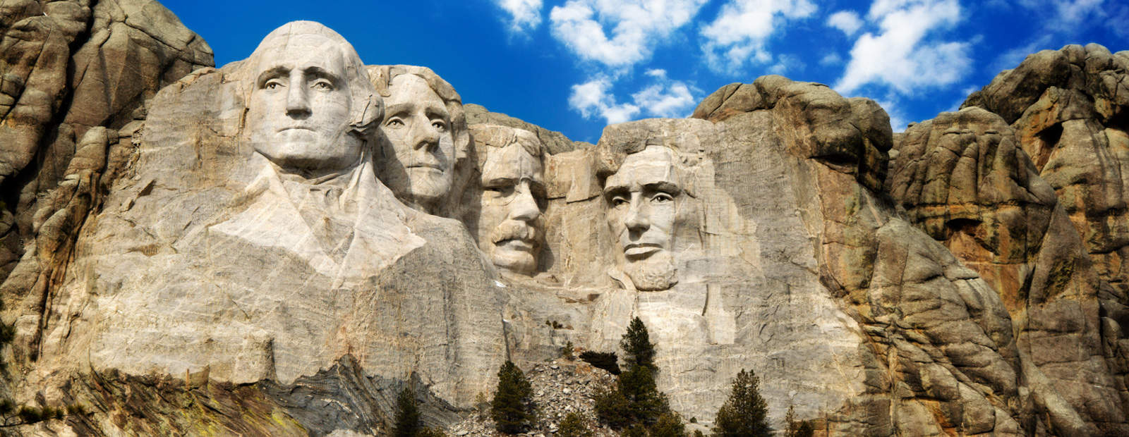 Mount Rushmore – famous sculpture